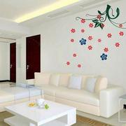 公寓简约墙贴装修