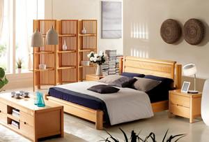 改变家庭气氛的双叶实木家具装修效果图