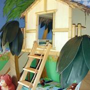 创意木屋儿童房装饰