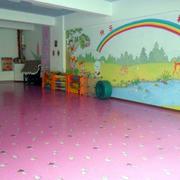 幼儿园教室背景墙装修
