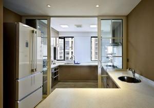 两居室厨房推拉门设计