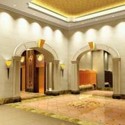 别墅客厅门设计