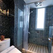 卫生间简约风格瓷砖装修
