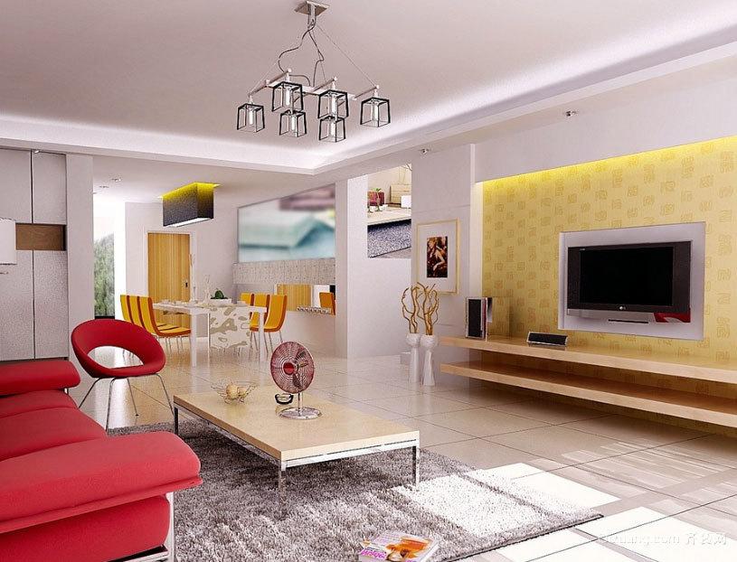 110平米欧式客厅硅藻泥背景墙装修效果图欣赏大全