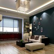 小户型后现代风格照片墙装饰