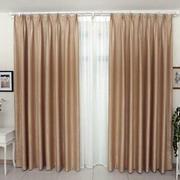 现代简约两层窗帘设计图