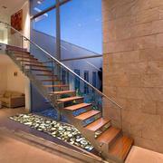 复式楼楼梯效果图