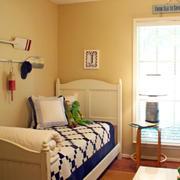 卧室浅色背景墙设计