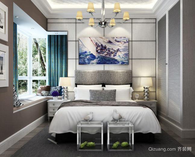 出水芙蓉:莲花般绽放的清雅卧室装修效果图