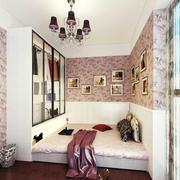 卧室照片背景墙设计