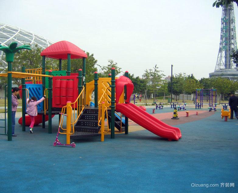 高艺术水准的幼儿园彩色橡胶地垫设计效果图欣赏图集