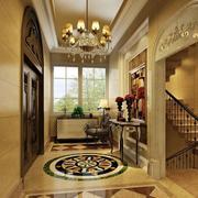 欧式奢华别墅玄关设计
