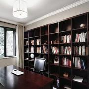 大型书房书架设计