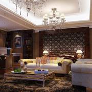 欧式奢华复古风格室内背景墙