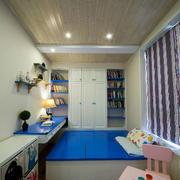 儿童房简约风格吊顶效果图