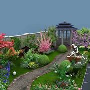 别墅花园雕塑设计