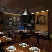 饭店创意灯饰设计