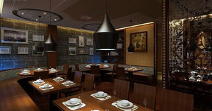 200平米精装饭店装修效果图展示