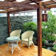 花园桌椅装修设计
