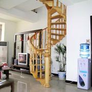样式美观的旋转型楼梯设计