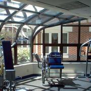 阳光房玻璃挡板设计