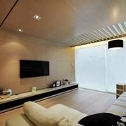 木制电视背景墙设计