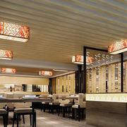 饭店石膏板吊顶设计