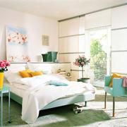 卧室混搭风格中式