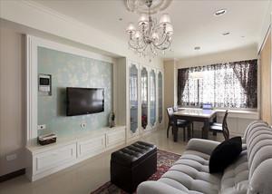 一室一厅后现代单身公寓装修效果图