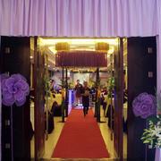 浪漫紫色婚礼现场紫色