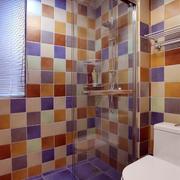卫生间墙饰瓷砖设计