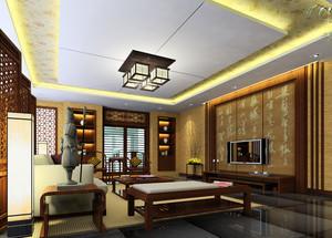 小户型中式客厅装修