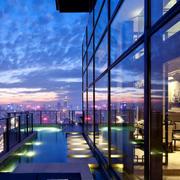 大型豪宅阳台装饰