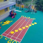 幼儿园小型跑道橡胶地垫