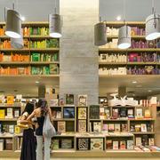 简约大型书店整体橱柜