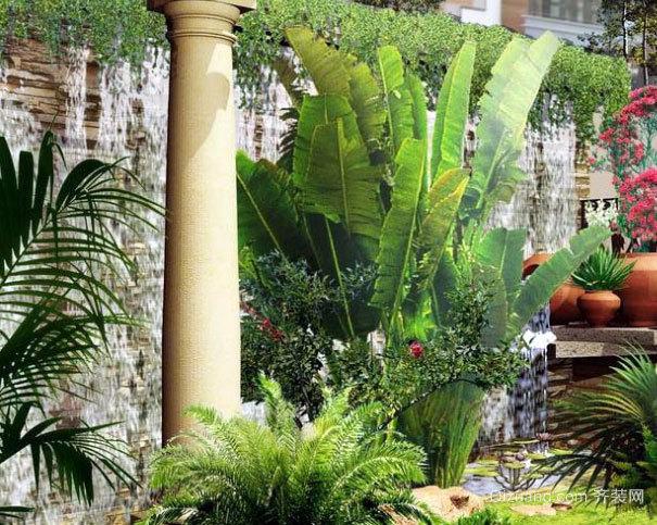 创新设计:专为别墅配备的屋顶小花园装修效果图