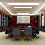 简约风格会议室灯饰设计