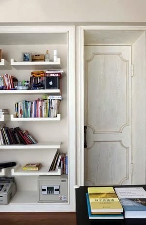 书房书柜装修效果图