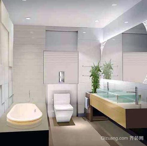清新自然:卫生间除臭设计装修效果图一览