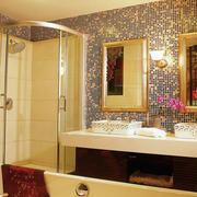 卫生间隔断浴室设计