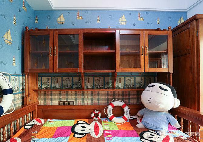 充满童趣的温馨儿童房装修效果图设计