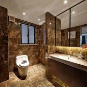 卫生间简欧风格瓷砖设计