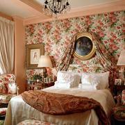 欧式小碎花卧室设计