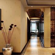 中式客厅玄关设计