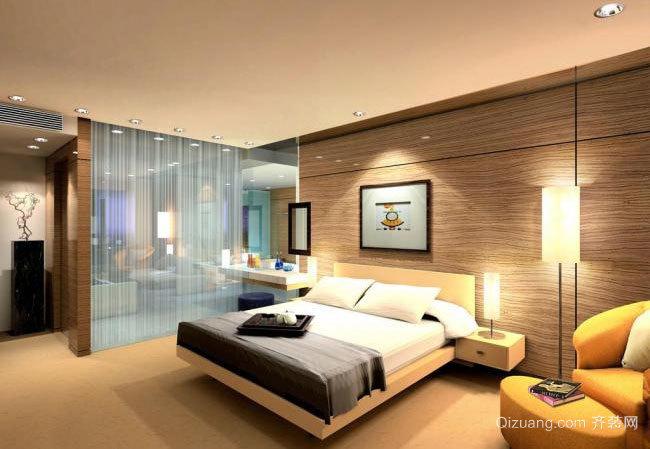 不一样的欧式风:优雅简欧风格卧室装修效果图