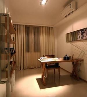 单身公寓小书房设计装修效果图展示