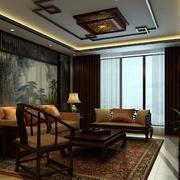 中式古韵背景墙装饰