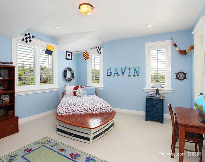 每天都是儿童节 多姿多彩的儿童房间装修设计效果图