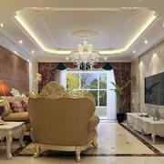 私人别墅客厅飘窗设计