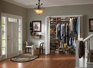 2015精致实用的家居进门门厅玄关鞋柜装修效果图